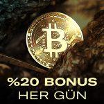 Anadolu Casino'da her gün Bitcoin bonusu